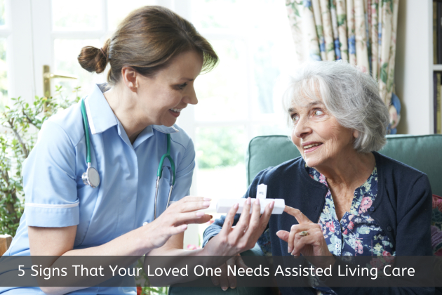 5 Signs That Your Loved One Needs Assisted Living Care